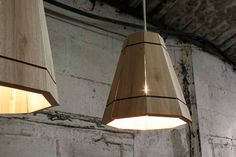 FactoryTwentyOne can certainly make pendant lampshades from pallets - Upcyclista