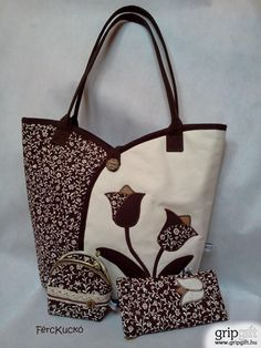 Patchwork Bags And Purses Ideas Quilted Tote Bags, Patchwork Bags, Patchwork Quilting, Quilting Fabric, Bag Quilt, Diy Sac, Bag Patterns To Sew, Sewing Patterns, Fabric Bags