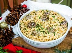 Swedish Meatball Pasta Best Home Cook winner Toya Boudy is preparing a delicious Italian dish that makes four servings. Easy Dinner Recipes, Pasta Recipes, Beef Recipes, Cooking Recipes, Cooking Ideas, Dinner Ideas, Supper Ideas, Food Ideas, Cooking Tofu