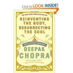 Your body is a fiction that is effected by awareness & life energy. Deepak breaks through negative inherited beliefs systems & gives you a new path to creating self from the soul thru awareness & the life energy we possess.