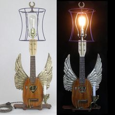 Upcycled Instruments Become Lightmusic Lamps Lamps & Lights