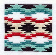 Machine Embroidery Designs at Embroidery Library! Machine Embroidery Designs at Embroidery Library! Native American Rugs, Native American Patterns, American Quilt, Native American Beading, American Art, Quilt Block Patterns, Quilt Blocks, Rug Patterns, Crocheting Patterns