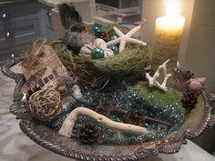 LOVE OF THE SEA: A French Inspired Christmas by Jeanne d'Arc Living ~ Part II