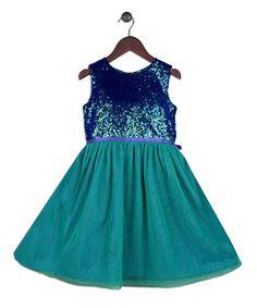 Green Ariel Dress - Toddler