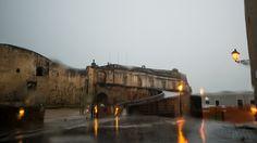 Fort San Cristobal in the rain – Old San Juan, Puerto Rico.