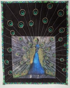 Flights Of Fantasy - Denise Griffiths | Art Quilts Around The World