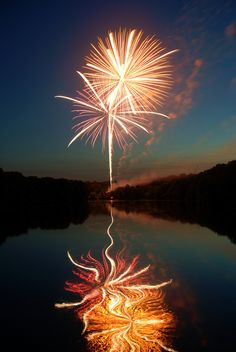 :) increible the fire works