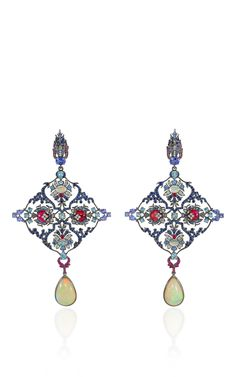 From the designer's Topkapi Collection, this breathtaking piece by **Lydia Courteille** is inspired by the stunning palace in Instanbul, transporting us back to a time of opulent and vibrant décor with intricate constructions and brilliant stones.