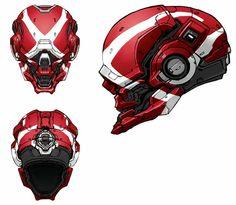 http://www.creativeuncut.com/gallery-21/art/halo4-locus-helmet-skin.jpg ✤ || CHARACTER DESIGN REFERENCES | キャラクターデザイン | çizgi film • Find more at https://www.facebook.com/CharacterDesignReferences & http://www.pinterest.com/characterdesigh