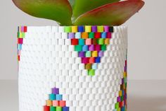 As promised, I'm back with a fun new project!  However, it's not actually the project I mentioned in my last post, though it is a fun, colorful, new Pinterest project that I made in the…
