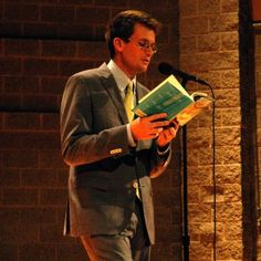 John Green reads from one of his books.