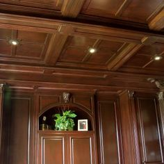 How to install a ceiling Tongue And Groove Ceiling, Lighting Design, Kitchen Cabinets, Coffered Ceilings, Hijab Fashion, Basement, Home Decor, Art, Blue Prints