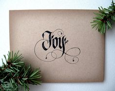 Black and White Christmas Cards  Holiday Cards   by OtherAlice