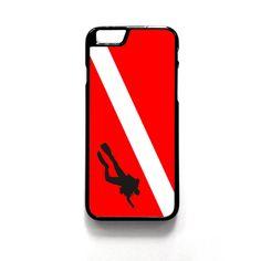 Scuba Diving Flag For Iphone 4/4S Iphone 5/5S/5C Iphone 6/6S/6S Plus/6 Plus Phone case ZG
