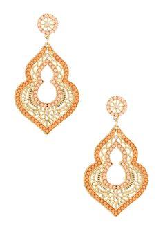 Moroccan Drop Earrings from HauteLook on Catalog Spree