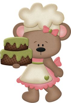 Ladies / Items / Card Making Bear Clipart, Cute Clipart, Art Pictures, Art Images, Foam Crafts, Paper Crafts, Teddy Bear Cartoon, Teddy Bears, Betsy Baker