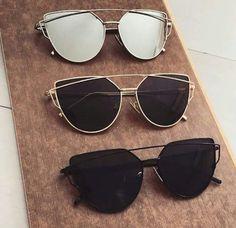 Imagen de sunglasses, black, and girl