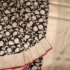 Handwoven Banarasi Katrua Katan Silk Saree With Jangla Design 10019926 - AVISHYA.COM