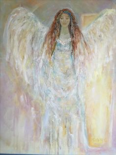 Cheryl Crane, Angels, Artwork, Painting, Work Of Art, Auguste Rodin Artwork, Angel, Painting Art, Artworks