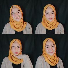 Image may contain: 4 people, text Muslim Girls, Muslim Women, Muslim Beauty, Casual Hijab Outfit, Hijab Fashion Inspiration, Indonesian Girls, Selfie Poses, Girl Hijab, Beautiful Hijab