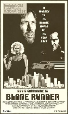 BladeRunner - alternate universe movie poster