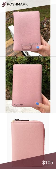 NWT Kate Spade Grove Street Zip Around Agenda Brand new with tags Kate Spade Grove Street zip around personal agenda in pink bonnet - has 2018 filler pages - such a cute color! - unused -  📷 Colors may vary slightly from photos  💰Bundle for the best deal  ❌No trades, sorry kate spade Accessories