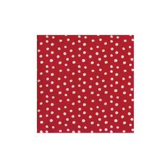 Small dots red servilletas - Topos con rayas