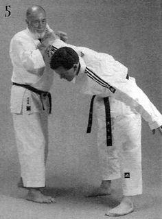 Chūdan soto haiwan uke, tettsui ganmen uchi, shita zuki, waki gatame Martial Arts, Combat Sport, Martial Art