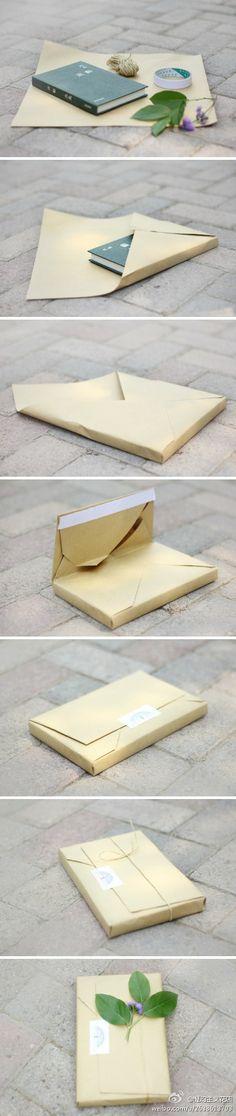 魔幻主义课堂——简约式礼物包装:时常收到...