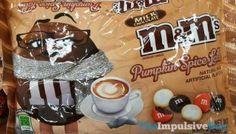 SPOTTED ON SHELVES: Pumpkin Spice Latte Milk Chocolate M&M's