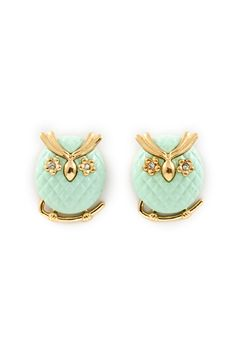 Mintylicious Owl Earrings
