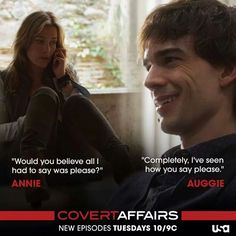 Annie and Auggie ♥