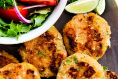 Serves 4 - New Zealand Herald Fish Cakes Recipe, Fish Recipes, Seafood Recipes, Whole Food Recipes, Salmon Fishcakes, Seafood Platter, Quick Easy Dinner, Unprocessed Food, Fish Dishes