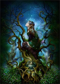 Para os galeses, Cerridwen é uma Deusa Tríplice (donzela, mãe e mulher idosa), cujo animal totêmico é uma grande porca branca. Ela é a mãe que conserva todos os poderes da sabedoria e do conhecimento. Ela é a Deusa que devemos reverenciar nos momentos de dificuldades e anulação de qualquer tipo de malefício. Ela é a Deusa do caos e da paz, da harmonia e da desarmonia.