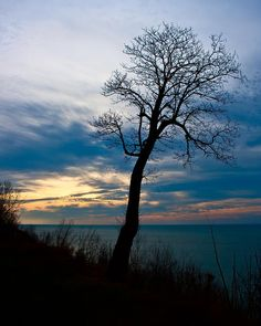✮ Beautiful sunset over Lake Michigan