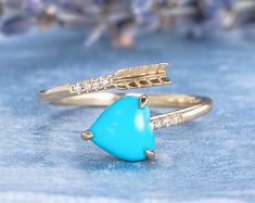 HANDMADE RINGS & BRIDAL SETS by MoissaniteRings on Etsy Bridal Ring Sets, Handmade Rings, Gemstone Rings, Trending Outfits, Unique Jewelry, Turquoise, Engagement Rings, Gifts, Merry