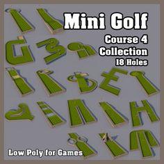 Mini Golf Course 4 Collection
