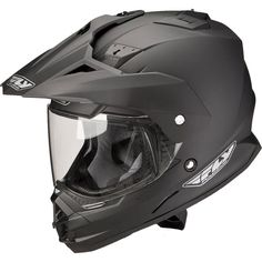 Fly Racing Trekker DS, It looks like a Master Chief helmet.