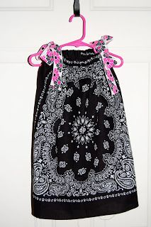 the 15 minute dress Winners have been chosen! This giveaway is closed. OK ladies are you ready for this!? It's called a bandanna dress and Lucy looks so dang cute in it! It's here, for you, just in time for Spring! What, you don't believe me that it takes only 15 minutes!!??