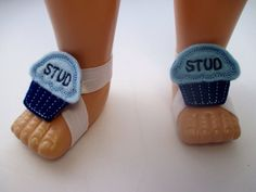 Barefoot Baby Sandals Stud Muffin Blue Barefoot Baby Sandals Boys by girlfrosting
