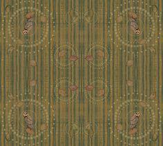 persimmon fabric by novelatelier on Spoonflower - custom fabric