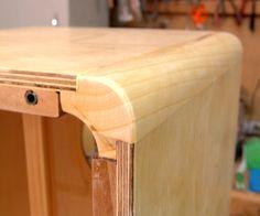 cajon in progress. Cajon Drum, Drum Instrument, Bongos, Plywood Boxes, Hand Drum, Wash Tubs, Wood Joints, Guitar Building, Wood Design