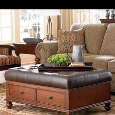 Bassett furniture ottoman