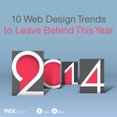 10 Web Design Trends to Leave Behind in 2014