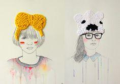 Knuffels à la carte blog: Embroidery art