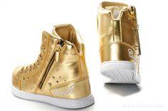 Coogi superb Shoes womens shine gold (2)