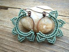 macrame earrings by gardenofshambala