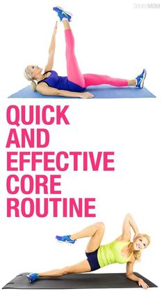 Want strong abs? Try this fitness routine.