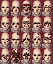 skyrim face paint - Buscar con Google