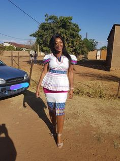 African Print Dress Designs, African Print Dresses, African Print Fashion, African Design, African Fashion Dresses, African Dress, African Prints, Pedi Traditional Attire, Sepedi Traditional Dresses